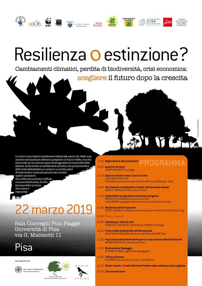 Resilienza o estinzione?
